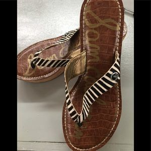 Sam Edelman Romy Wedge Sandals size 7